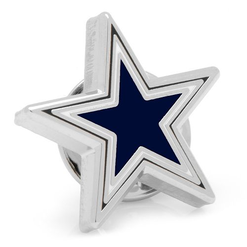 Dallas Cowboys Silver-Plated Lapel Pin