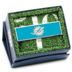 Miami Dolphins Rhodium-Plated Money Clip