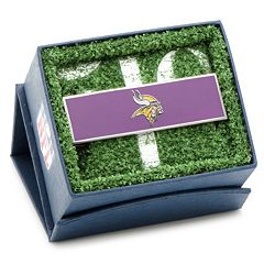 Minnesota Vikings Rhodium-Plated Money Clip