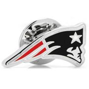 New England Patriots Silver-Plated Lapel Pin