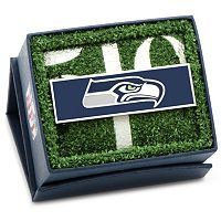 Seattle Seahawks Rhodium-Plated Money Clip