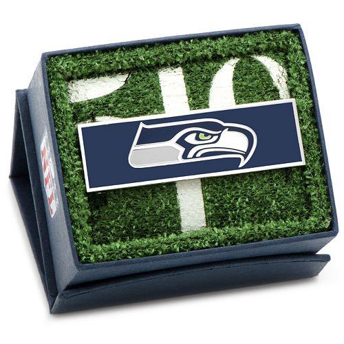 Seattle Seahawks Rhodium-Plated Money Clip