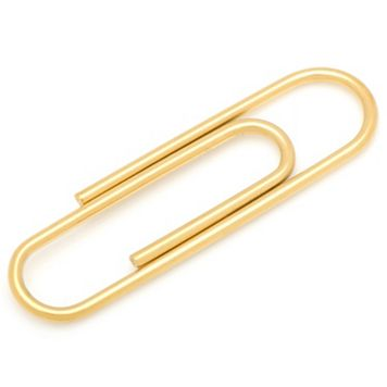 Stainless Steel Paper Clip Money Clip