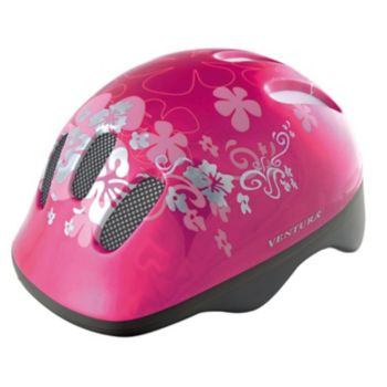 Ventura Flower Bike Helmet - Kids
