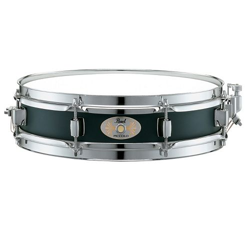 "Pearl 13""x 3"" Piccolo Black Snare Drum"