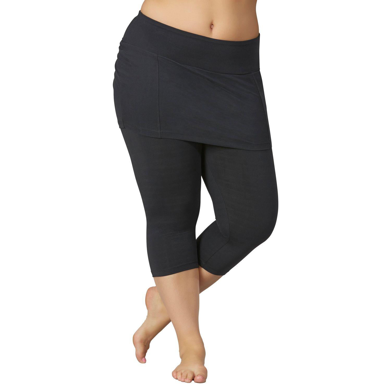 Women'S Plus Size Skirted Leggings