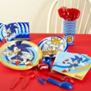 Sonic the Hedgehog Party Supplies for 8