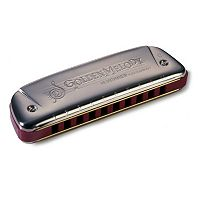 Hohner Golden Melody Diatonic Harmonica - Key of C Major