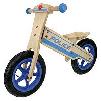 Tour de France 12 in Wooden Police Balance Bike - Boys