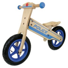Tour de France 12-in. Wooden Police Balance Bike - Boys