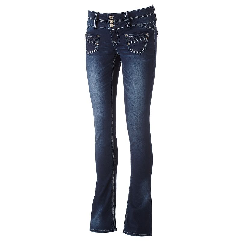 Hydraulic Bailey Bootcut Jeans - Juniors (Blue)