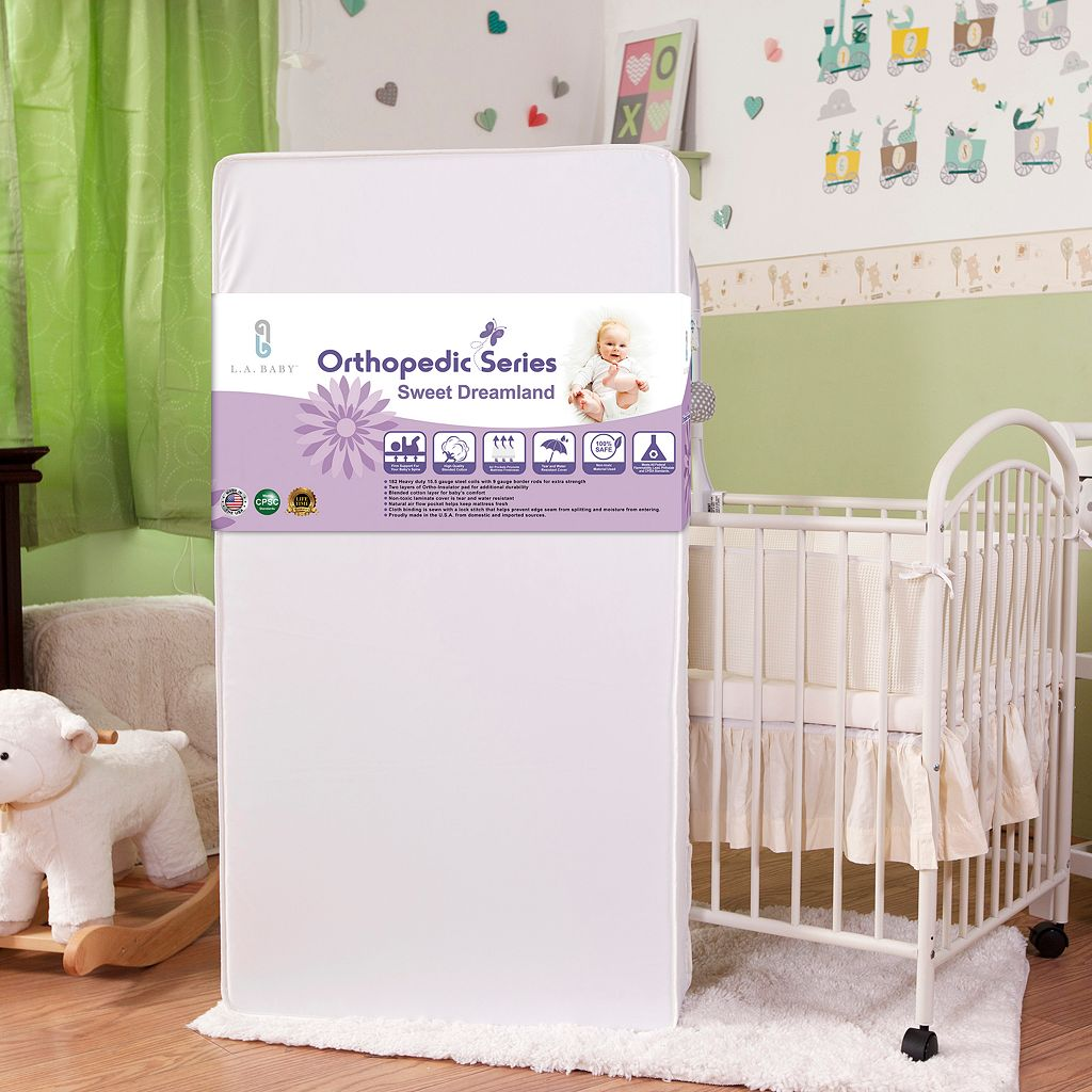 LA Baby Sweet Dreamland Crib Mattress