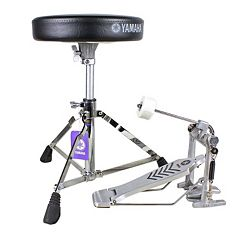 Yamaha Drum Set Hardware Package with Drum Throne & Bass Drum Pedal