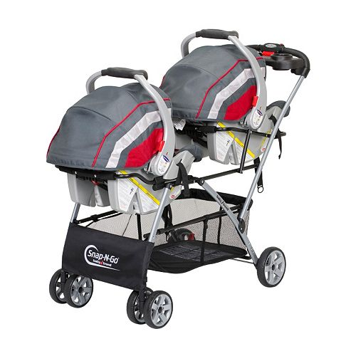 The Baby Trend Snap N Go Double Stroller features a convenient, one-hand compact fold for storage or travel, and an extra large storage basket. About This Item Designed for a child up to 45 lbs per seat/5(71).