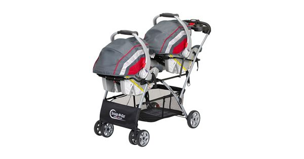 baby trend snap n go double universal car seat stroller