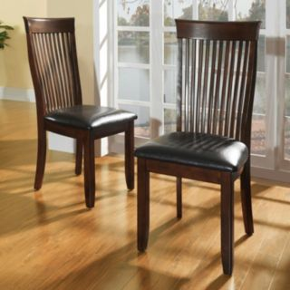 HomeVance 2-piece Chesterfield Side Chair Set