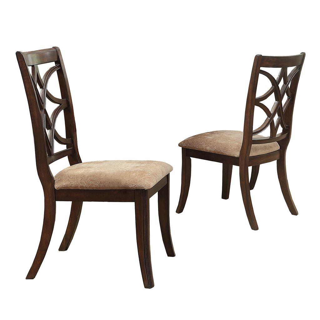 HomeVance 2-piece Hansford Side Chair Set