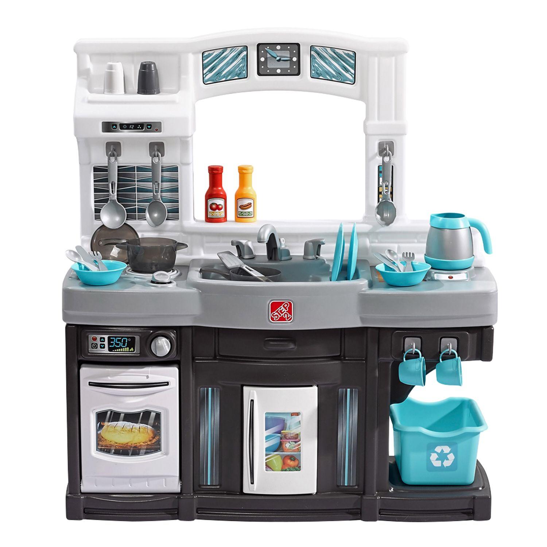 step2 modern cook kitchen set rh kohls com Play Kitchen Step 2 Lifestyle Custom Play Kitchen