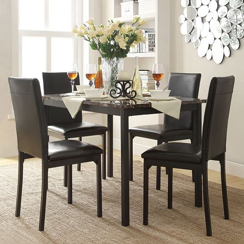HomeVance Catania 5-piece Dining Table & Chair Set