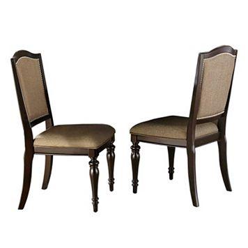 HomeVance Hanbury 2-piece Side Chair Set