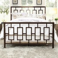 HomeVance Kirby Vista Bed Frame - Queen
