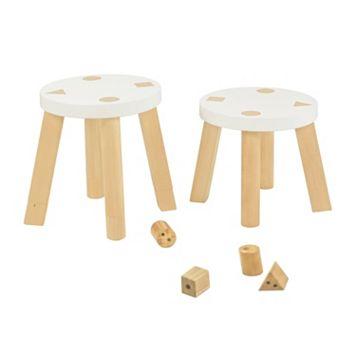 Babyletto Kaleidoscope 2-pc. Mini Stool Set