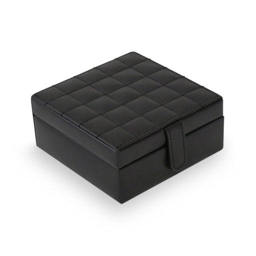 Bey-Berk Leather Jewelry Box