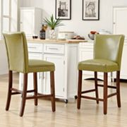 HomeVance 2 pc Brady Counter Chair Set