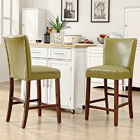 HomeVance 2-piece Brady Counter Chair Set