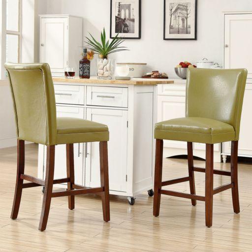 HomeVance 2-piece Brady Counter Chair Set