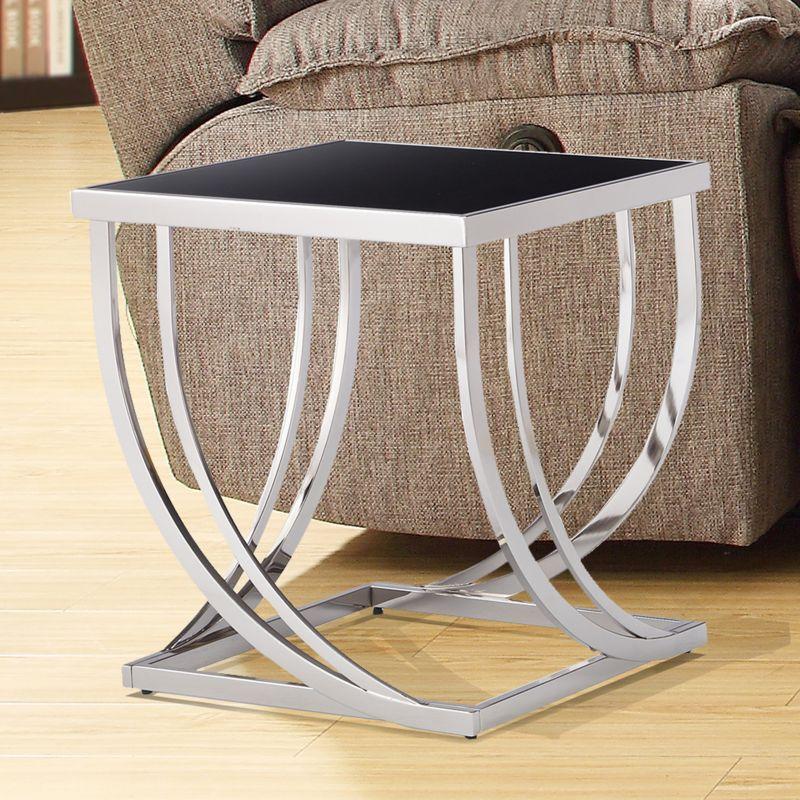 HomeVance Elim End Table, Grey