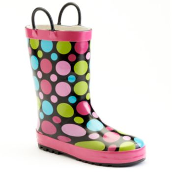 Western Chief Dot Party Toddler Girls' Rain Boots