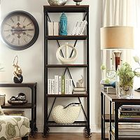HomeVance Comerford Narrow Bookshelf