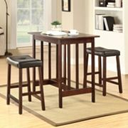 HomeVance 3 pc Bistro Set