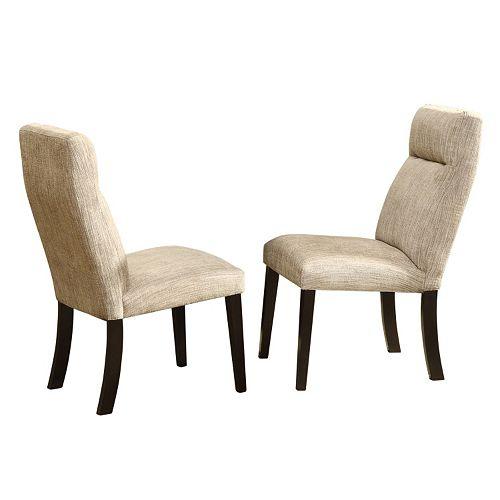 HomeVance 2-pc. Hurst Side Chair Set