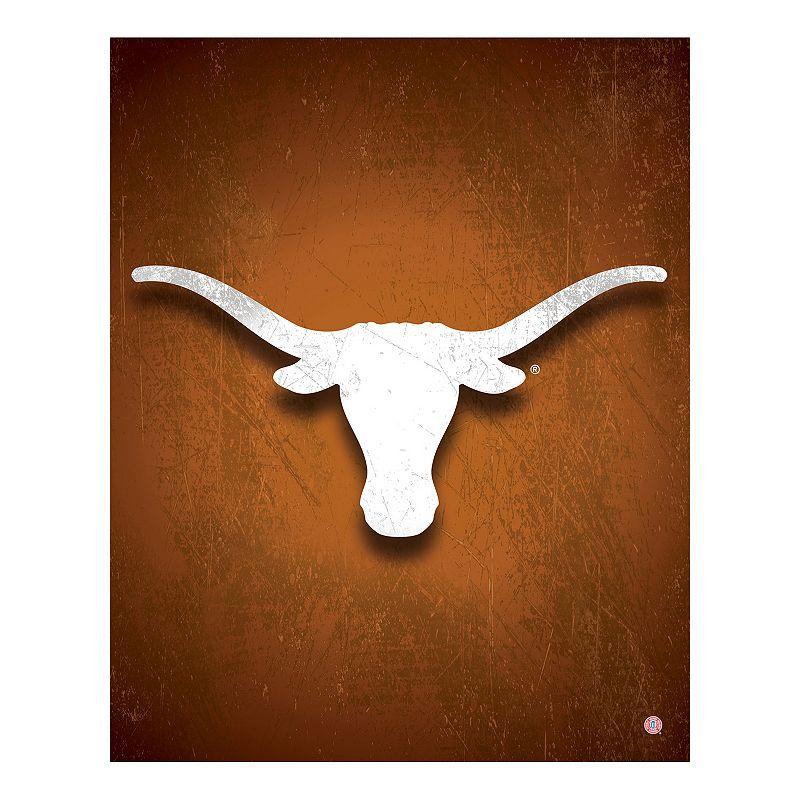 Texas Longhorns Canvas Wall Art