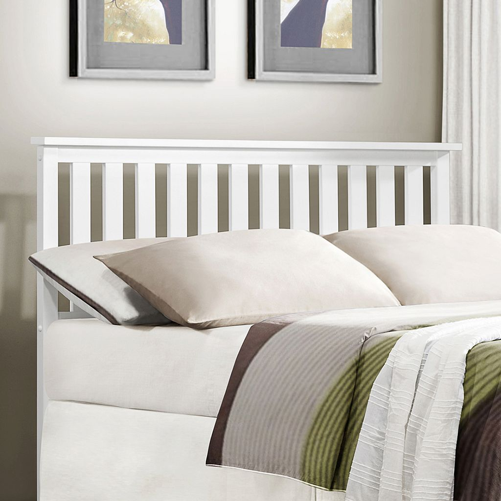 HomeVance Stratford Mission Slat Headboard - Twin
