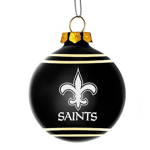 New Orleans Saints Christmas Ornaments.Forever Collectibles New Orleans Saints Christmas Ball