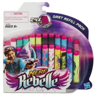 Nerf Rebelle Secrets and Spies 24-pk. Dart Refill by Hasbro
