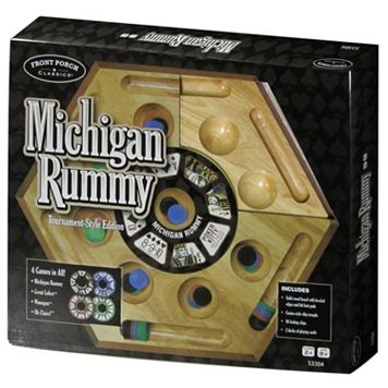 Michigan Rummy - Tournament Style Edition by Front Porch Classics