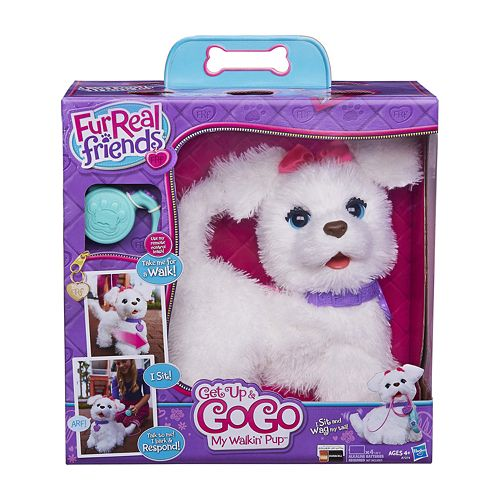 FurReal Friends Get Up & GoGo My Walkin' Pup Pet by Hasbro