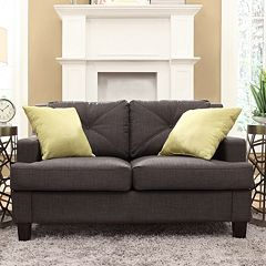 HomeVance Gaven Loveseat