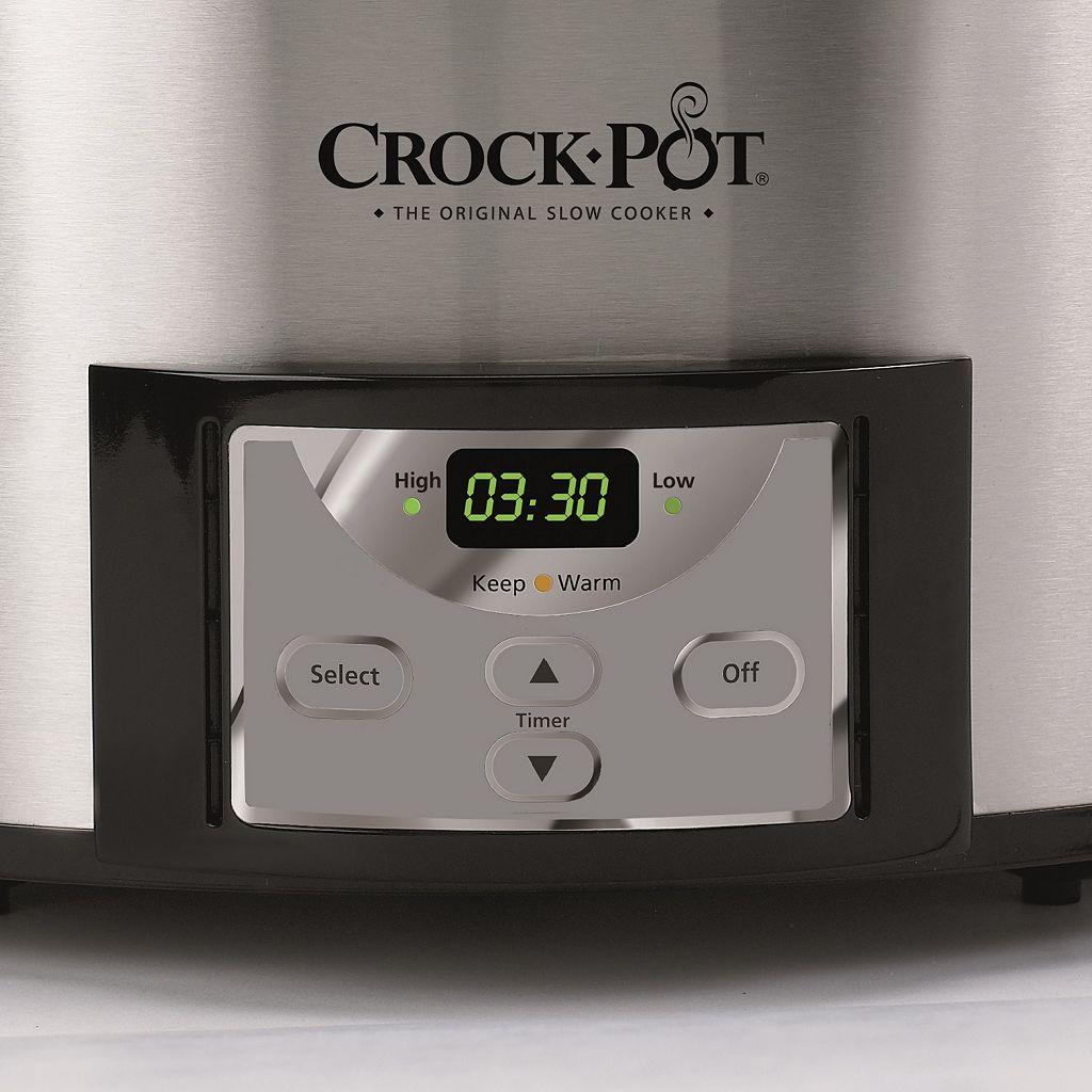 Crock-Pot 6-qt. Countdown Slow Cooker