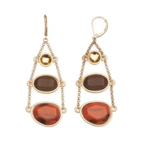 GS by gemma simone Rocks and Minerals Collection Cinnabar Drop Earrings