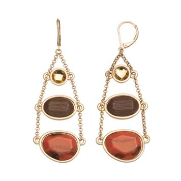 GS by gemma simone Rocks & Minerals Collection Cinnabar Drop Earrings