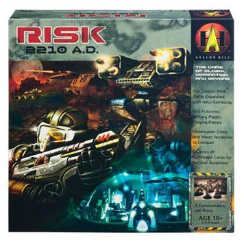 Risk 2210 AD Board Game
