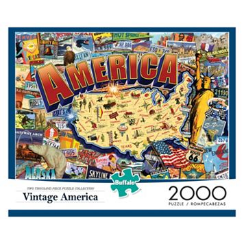 Vintage America 2000-pc. Puzzle