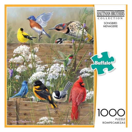 Hautman Brothers Collection: Songbird Menagerie 1000-pc. Puzzle