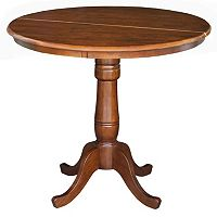 Round Extension Counter-Height Table