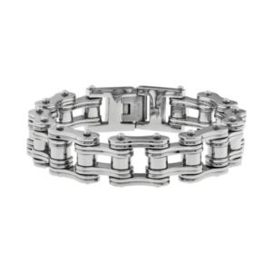 Lynx Stainless Steel Bicycle Chain Bracelet Men